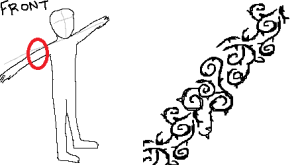 front-tribalarmband